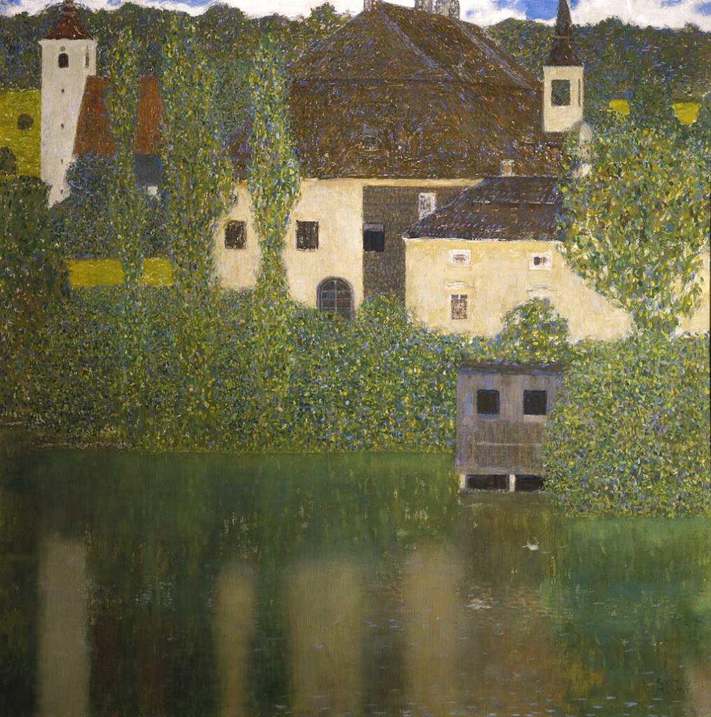 Gustav Klimt e la pittura di paesaggi