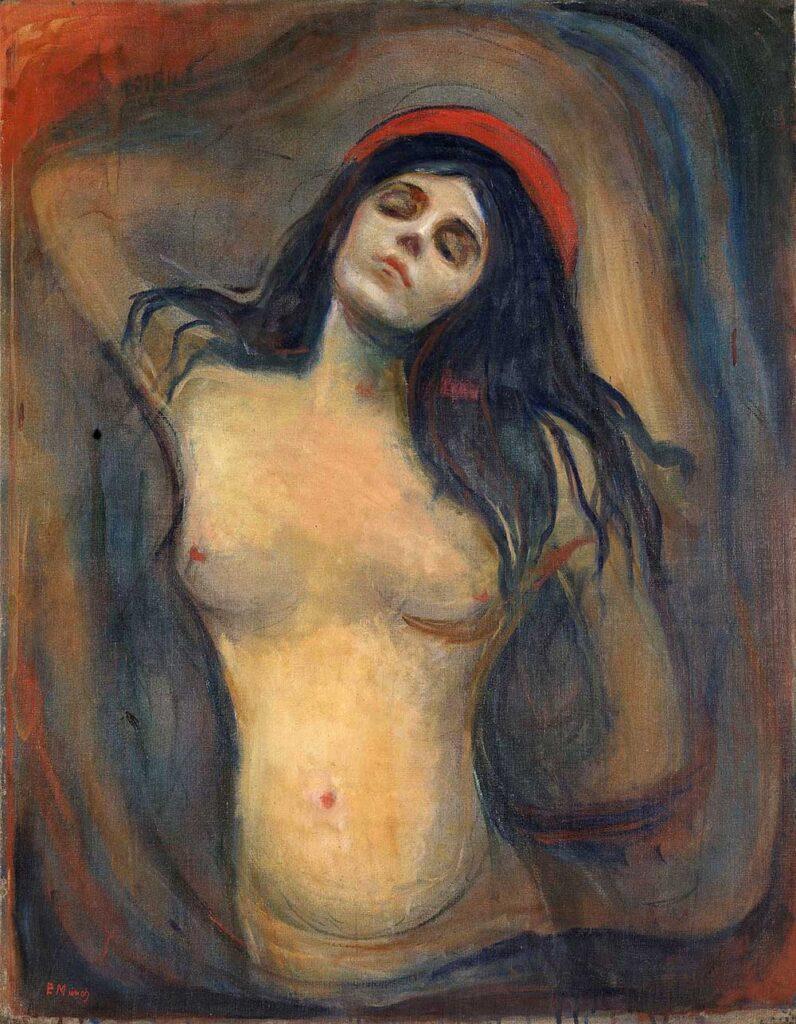 Eduard Munch, Madonna