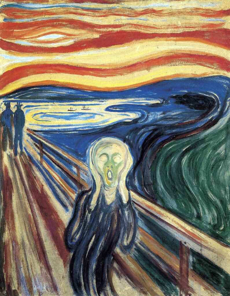 Storia dei furti dell'Urlo di Munch