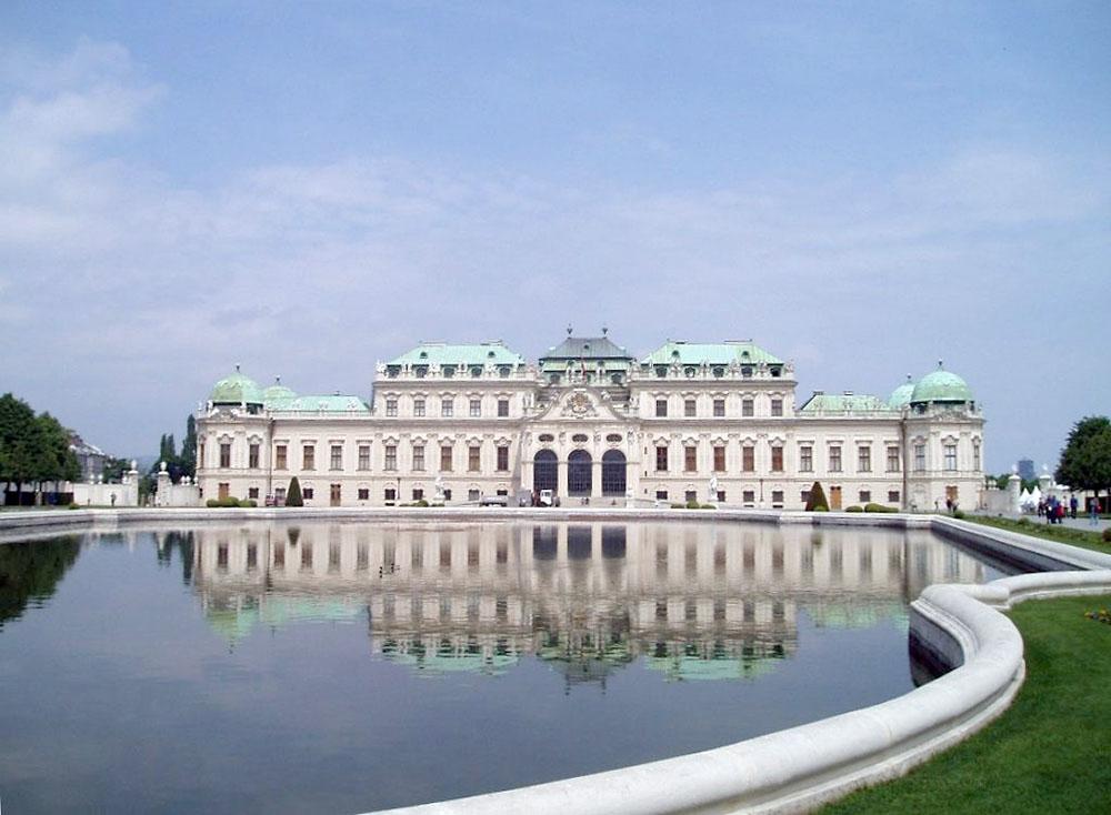 Il Castello del Belvedere a Vienna