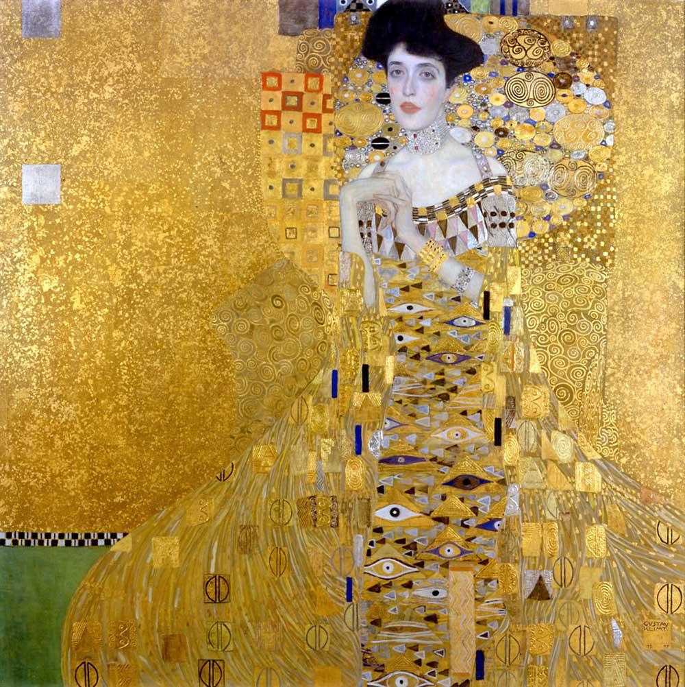 Gustav Klimt, Ritratto di Adele Bloch-Bauer I